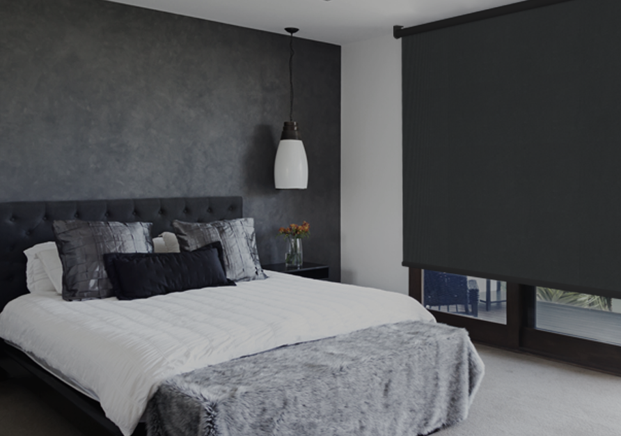 Black-out fabrics are excellent for bedrooms.