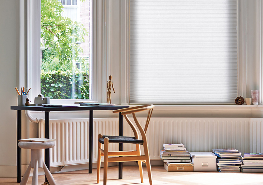 Translucent fabrics are ideal for living spaces.
