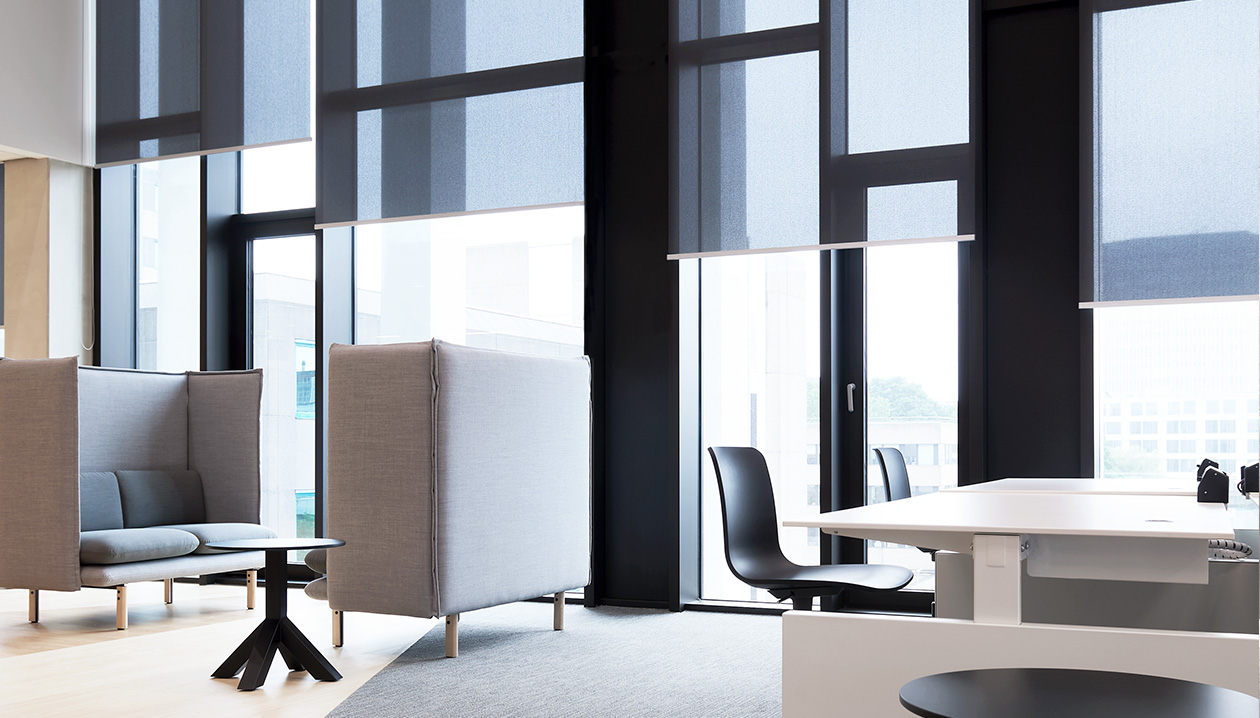 Screens are a perfect choice for professional environments